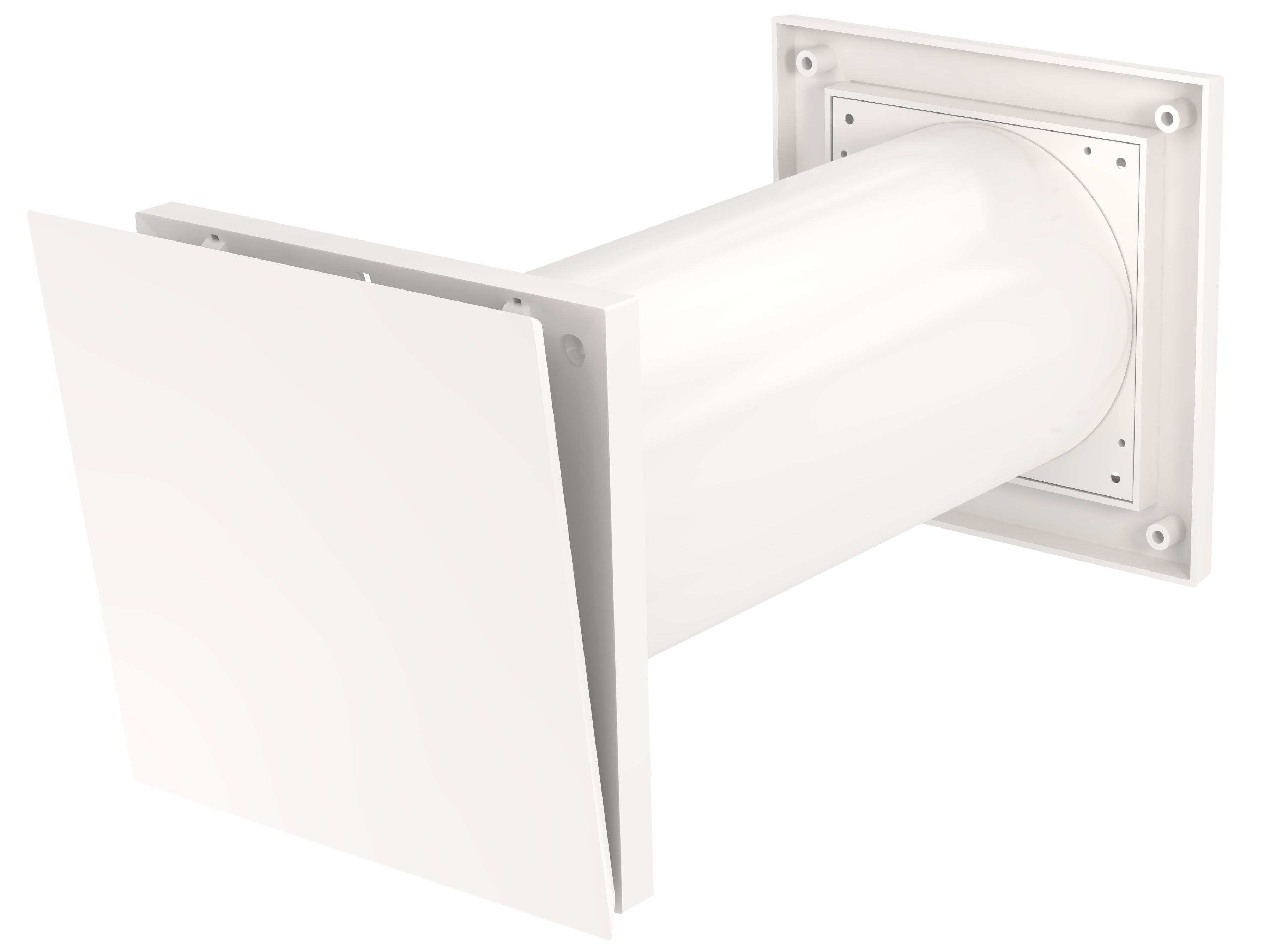 Fresh ventil för väggmontering