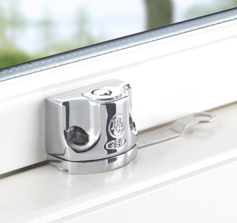 Godkända fönsterlås för inåt- och utåtgående fönster
