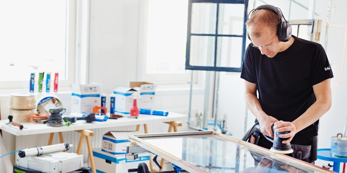 Leif Arvidsson, vi servar hantverkare